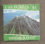 Stamps America - Costa Rica -  Volcan Arenal