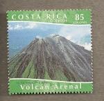 Sellos del Mundo : America : Costa_Rica : Volcan Arenal