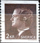 Stamps Sweden -  Intercambio 0,20 usd 2 k. 1980