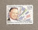 Sellos del Mundo : America : Costa_Rica : Secretario General OEA