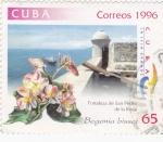 Stamps Cuba -  FORTALEZA DE SAN PEDRO DE LA ROCA
