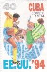 Sellos de America - Cuba -  MUNDIAL-94 EE.UU.
