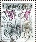 Sellos de Europa - Suecia -  Intercambio 0,25 usd 2,40 k. 1989