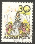 Stamps Hungary -  1404 - Blancanieves y los 7 enanitos