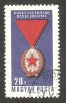 Stamps Hungary -  1815 - Condecoración Nacional,  Orden del Trabajo