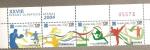 sellos de America - Costa Rica -  Olimpiadas Atenas 2004