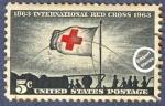 Sellos de America - Estados Unidos -  Centenario de la Cruz Roja Internacional