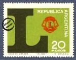 Sellos de America - Argentina -  50º Aniversario del Club de Leones