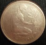 monedas de Europa - Alemania -  1972 (Anverso)