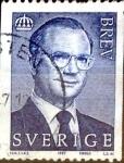 Stamps Sweden -  Intercambio 0,30 usd 5 k. 1997