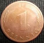 monedas de Europa - Alemania -  1974 (Reverso)
