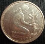 monedas de Europa - Alemania -  1975 (Anverso)