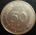 monedas de Europa - Alemania -  1975 (Reverso)