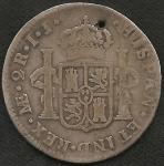 monedas del Mundo : America : Perú :  1722 - 2 Reales (A)