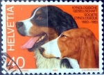 Stamps Switzerland -  Intercambio 0,25 usd 40 cent. 1983