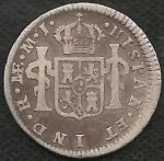 monedas del Mundo : America : Perú :  1774 - 0.50 REAL (A)