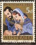 Sellos del Mundo : Oceania : Australia : Navidad1965.