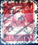 Stamps Switzerland -  Intercambio 0,20 usd 20 cent. 1925