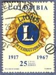 Sellos de America - Colombia -  Cincuentenario Lions International