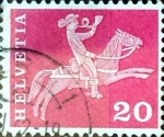 Stamps Switzerland -  Intercambio 0,20  usd 20 cent. 1960
