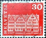 Sellos de Europa - Suiza -  Intercambio 0,20  usd 30 cent. 1968