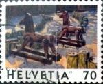 Sellos de Europa - Suiza -  Intercambio 0,30  usd 70 cent.  1998
