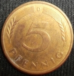 monedas de Europa - Alemania -  1978 (Reverso)