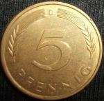 monedas de Europa - Alemania -  1979 (Reverso)