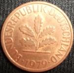monedas del Mundo : Europa : Alemania :  1979 (Anverso)