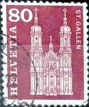 Sellos del Mundo : Europa : Suiza : Intercambio 0,20 usd 80 cent. 1960