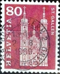 Stamps : Europe : Switzerland :  Intercambio ma4xs 0,20 usd 80 cent. 1960