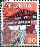 Sellos de Europa - Suiza -  Intercambio 0,20 usd 30 cent. 1973
