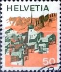 Sellos del Mundo : Europa : Suiza : Intercambio 0,25 usd 50 cent. 1973