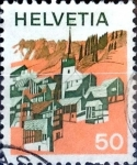 Stamps : Europe : Switzerland :  Intercambio 0,25 usd 50 cent. 1973