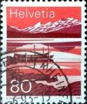Sellos del Mundo : Europa : Suiza :  Intercambio 0,50 usd 80 cent. 1991