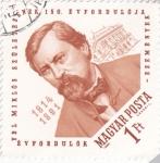 Stamps Hungary -  YBL MIRLOS SZULETESENEK 1814-1891