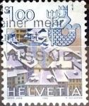 Sellos de Europa - Suiza -  Intercambio 0,30 usd 1 fr. 1982