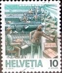 Sellos del Mundo : Europa : Suiza :  Intercambio ma4xs 0,20 usd 10 cent. 1986