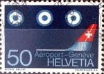 Sellos del Mundo : Europa : Suiza :  Intercambio ma4xs 0,35 usd  50 cent. 1968