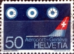 Sellos de Europa - Suiza -  Intercambio 0,35 usd  50 cent. 1968