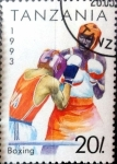 Sellos del Mundo : Africa : Tanzania : Intercambio 0,35 usd  20 sh. 1992