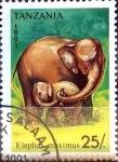 Stamps : Africa : Tanzania :  Intercambio agm2 0,90 usd  25 sh. 1991.