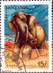 Sellos del Mundo : Africa : Tanzania : Intercambio agm2 0,60 usd  15 sh. 1991.