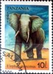 Stamps : Africa : Tanzania :  Intercambio agm2 0,60 usd  10 sh. 1991.