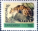 Stamps : Africa : Tanzania :  20 cent. 1980