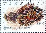 Stamps : Africa : Tanzania :  Intercambio aexa 2,00 usd  100 sh. 1992