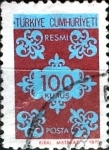 Stamps : Asia : Turkey :  100 k. 1975