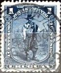 Sellos del Mundo : America : Uruguay : Intercambio 0,20 usd  1 cent. 1897
