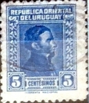 Sellos del Mundo : America : Uruguay : Intercambio 0,20 usd  5 cent. 1937