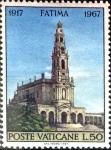 Sellos de Europa - Vaticano -  Intercambio cxrf 0,20 usd  50 l. 1967